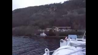 スコットランド ティンバーブッシュツアー ネス湖遊覧船