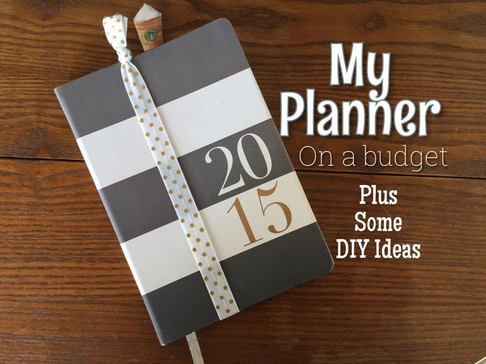 my planner setup on a budget plus some diy ideas youtube