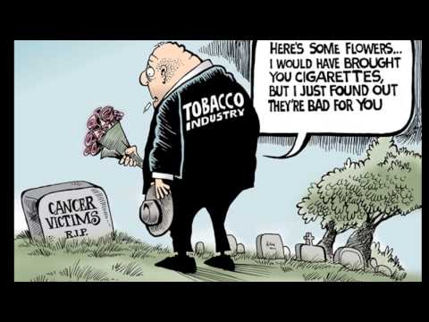 Cartoonists Take Up Smoking