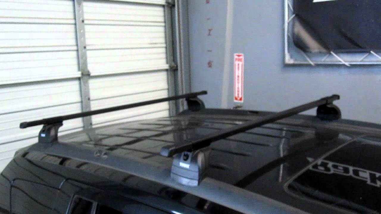 Jeep Compass With Thule 460 Aeroblade Base Roof Rack By