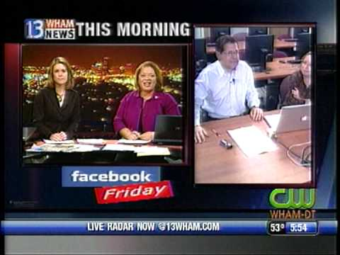 RIT on TV News: Facebook Friday (segment 1)