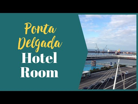 Azores Holidays - Sao Miguel, Ponta Delgada, View from Marino Atlantico Hotel over Harbour