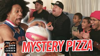 Mystery Pizza Box w/ Harlem Globetrotters
