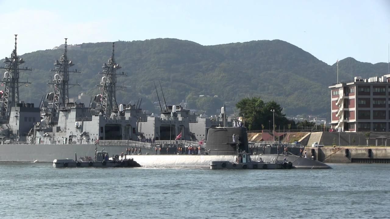 M160820 海上自衛隊佐世保基地 ...
