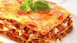 Beef Lasagne (so Easy!) - Recipe