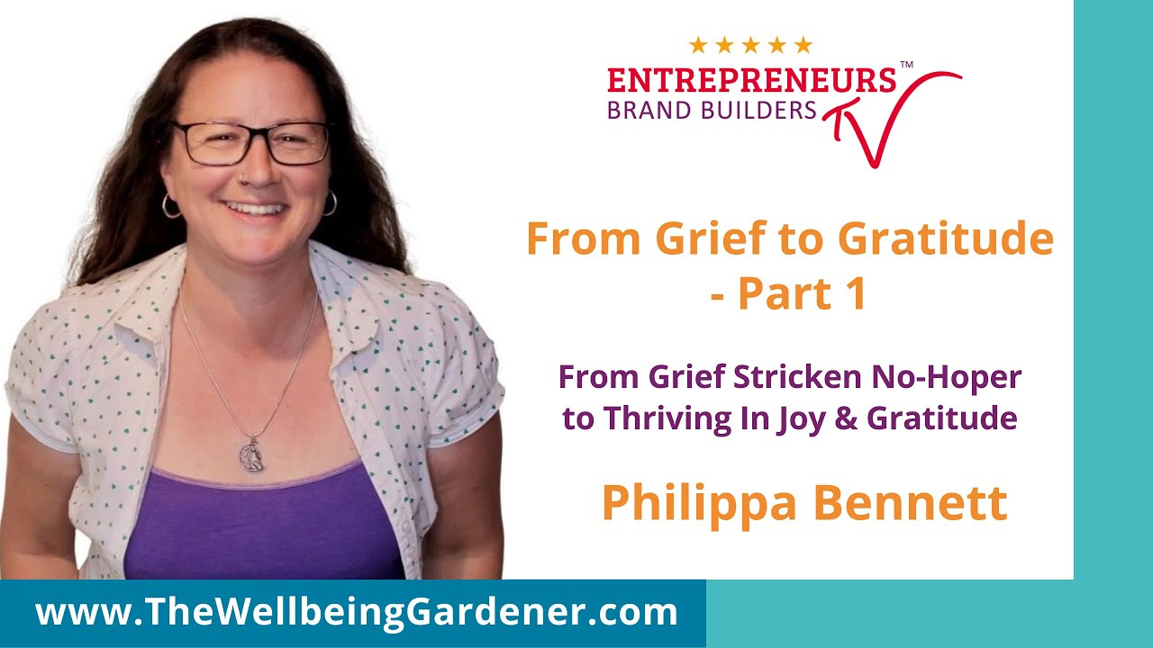 From Grief to Gratitude - Ep. One - Up On YouTube!!  Grief Support For People Affected By Suicide