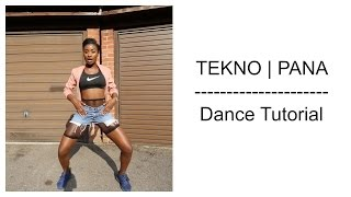 Tekno - Pana Dance Tutorial | Dance Challenge | Choreography by @itsjustnife | Chop Daily