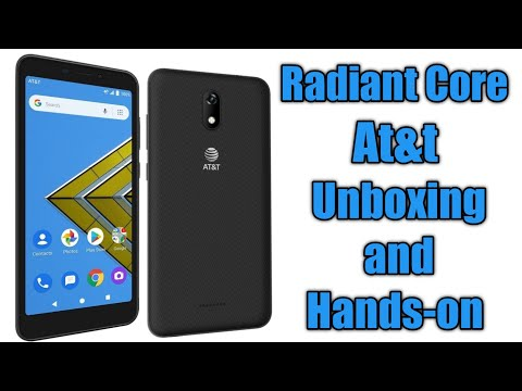 AT&T Radiant Core Unboxing and Complete Walkthrough