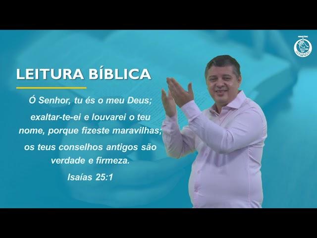 Culto em Libras 11 de abril de 2021