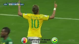 All Goals of the FIFA World Cup 2014 Brazil screenshot 3