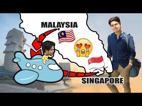 Last Day in Malaysia + Hello Singapore | #RedVlogs