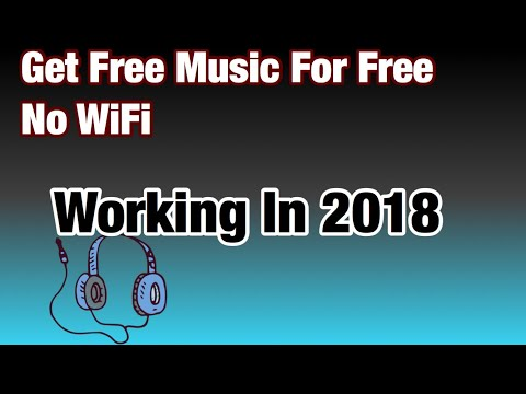 How To Get Free Music Offline No WiFi On iOS 11.4.1 2018 *Must Watch*