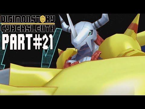 Digimon Story Cyber Sleuth Walkthrough Part 21 Gameplay Lets Play