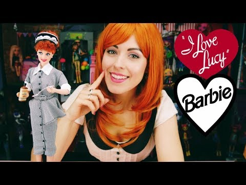 Barbie I Love Lucy Doll Review! Who Doesn't Love Lucy?