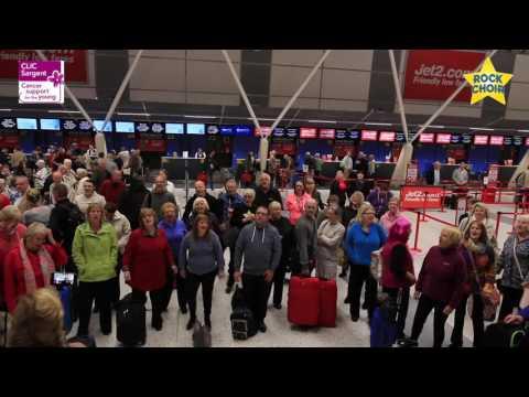 Rock Choir - East Midlands Airport Flashmob