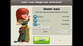 Town Hall 10 Best Trophy Base Trick TH10 Troll Base | Clash Of Clans