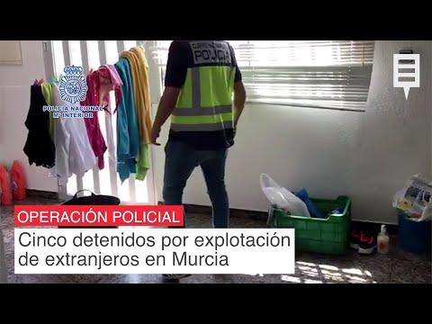 Cinco detenidos en Murcia por delitos contra los derechos de los ciudadanos extranjeros