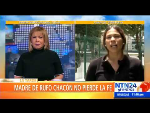 """""""Necesitamos que países de ciencia avanzada nos ayuden a que Rufo recupere la vista"""" :Adriana Parada"""
