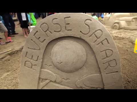 Sand Castle Contest Cannon Beach Oregon 2017