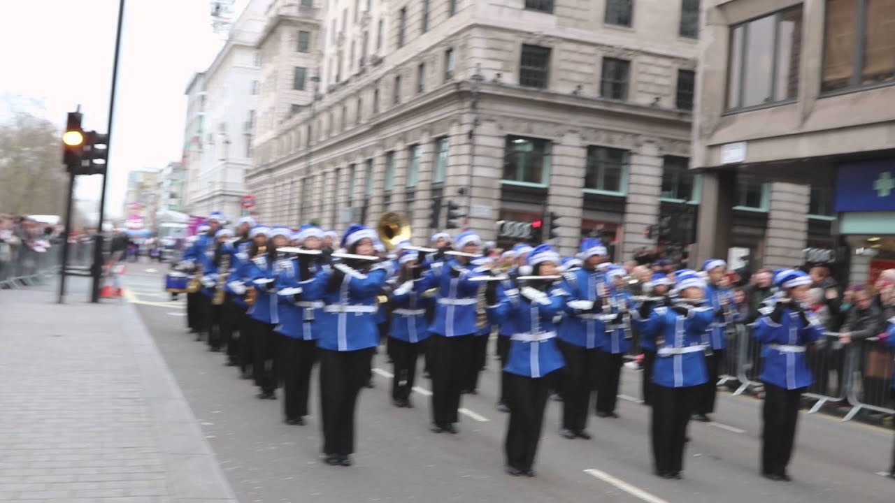 TBC London New Years Day Parade 2016 #2 - YouTube