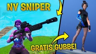 NEW CHEAZY SNIPER SHOWS THE FUTURE OF THE STORM! * NEW FREE SKINS * FORTNITE UPDATE VIDEO