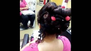 hairstyle video  of lata beauty parlour