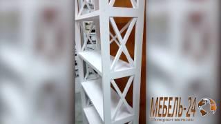 Стеллаж Ranum 6(Красивый современный стеллаж Ranum 6 в белом цвете из масива дерева сосна. Купить недорого можно в интернет..., 2017-03-09T12:19:34.000Z)