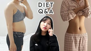 (ENG) 다이어트 Q&A / 치팅? / 식욕 …