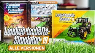 LS19: ALLE Versionen vom Landwirtschafts-Simulator 19 im Unboxing! | Farming Simulator 19