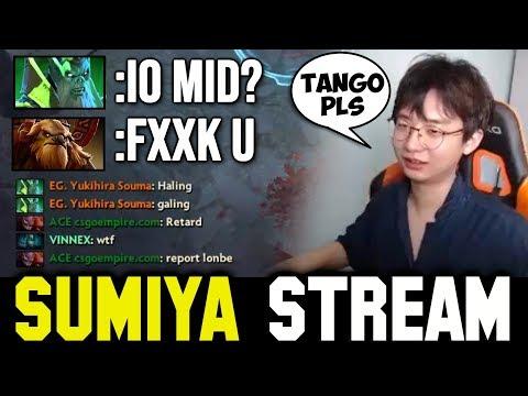 MID TOXIC IO on SEA Server   Sumiya Invoker Persona Stream Moment #899