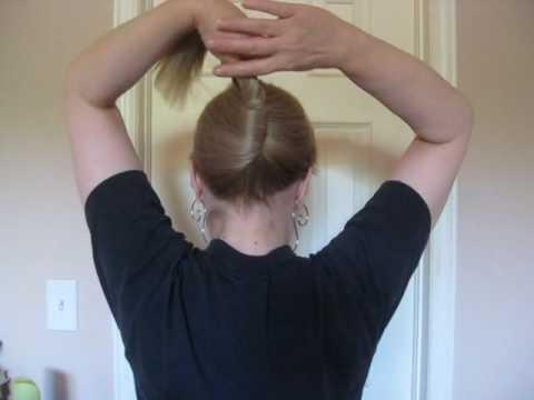 Hairstyle How To French Twist Youtube