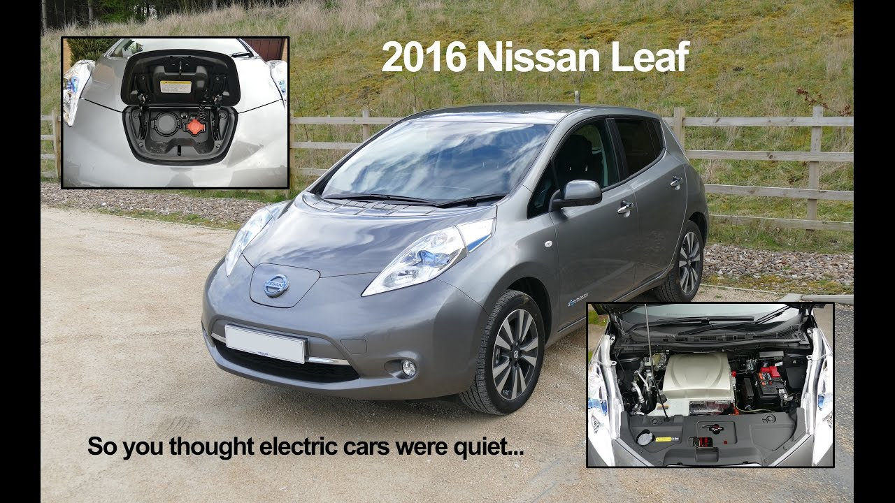 So You Thought Electric Cars Were Quiet Youtube
