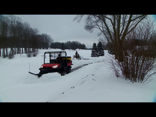 SnowEx UTV Snowplows