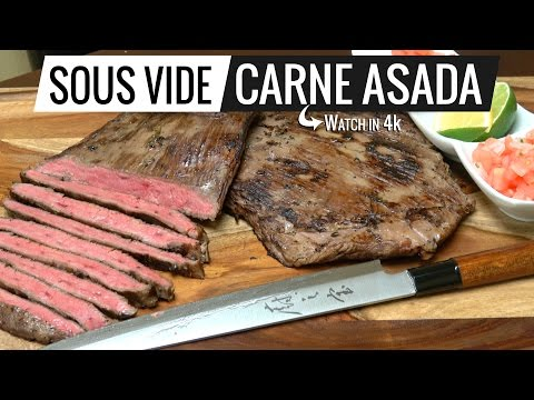 Sous Vide Carne Asada THE BEST CARNE ASADA EVER! by Sous Vide Everything