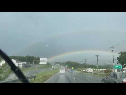7-26-21 Amherst, VA - Severe Thunderstorms and Wall Cloud Timelapses