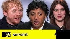 Servant's Rupert Grint, M. Night Shyamalan & Nell Tiger Free Talk THAT Bath Scene | MTV Movies