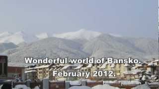 Wonderful world of Bansko. February 2012.(Wonderful world of Bansko in first-person point of view :) Amusing village and a lot of powder snow on unprepared Тоmba piste., 2012-07-24T13:22:06.000Z)