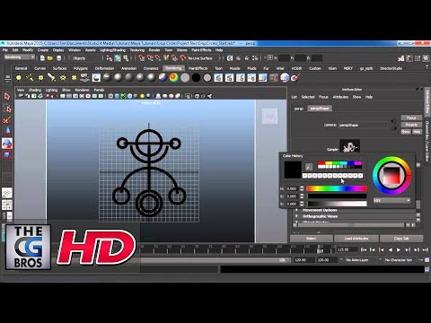"CGI 3D VFX Tutorial HD: ""Creating Crop Circles with Paint Effects and Fur"" - by HD"