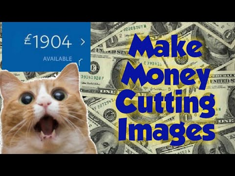 Make Money By Cutting Images - Make Money Online