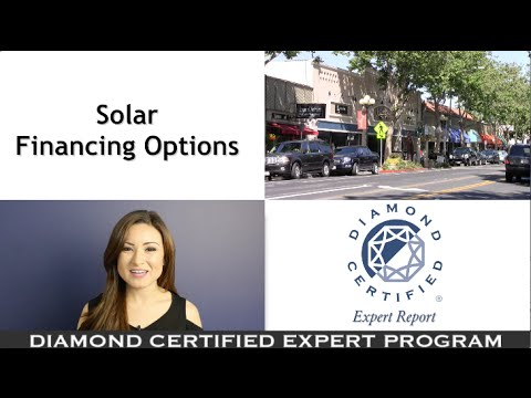 Diamond Certified Experts: Solar Financing Options