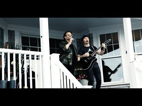 """U2 Performs """"Love Is Bigger Than Anything In Its Way"""" at the Radio.com Beach House [EXCLUSIVE]"""