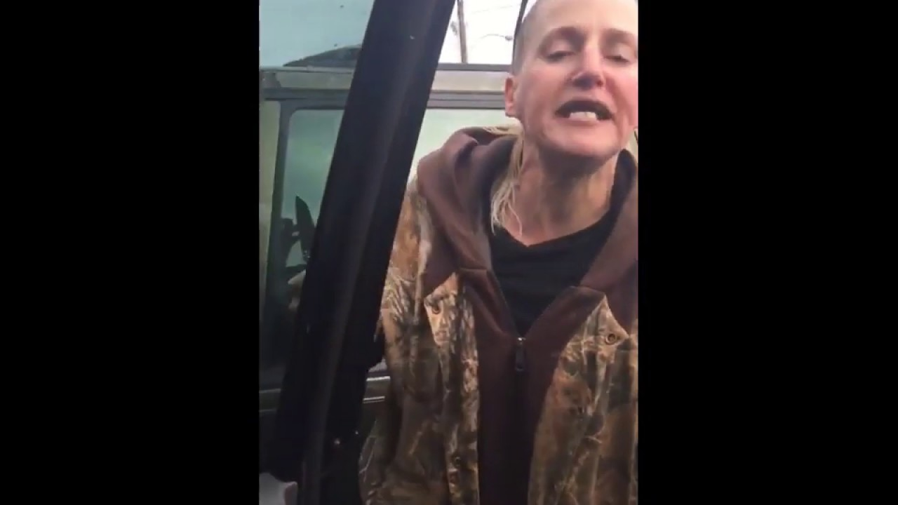 Racist Meth Head Stands Her Ground