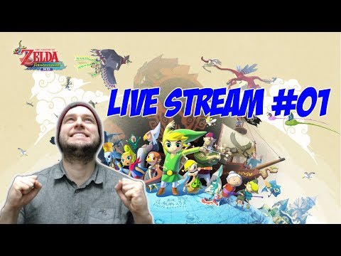 First Time Playing, I Might Need Help! - Zelda Wind Waker HD - LIVE STREAM [#01]