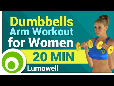 Total Arm Workout with Dumbbells for Women