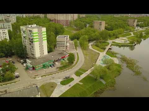 Набережная реки Серебрянка в Пушкино