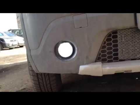 Renault Sandero Stepway ДХО ПТФ, разные варианты