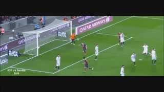 Lionel Messi Barcelona 2013 All Goals + Assists + Skill