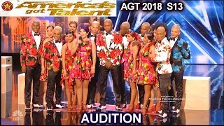 Reyes Del Swing Salsa Dance Group From Colombia  America's Got Talent 2018 Audition AGT