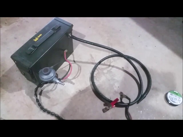 Homemade Smoke Machine - evap leak vacuum leak