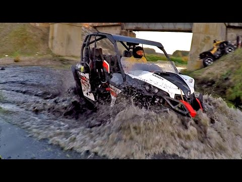 UTV BRP Maverick 1000 RS vs Polaris 800 vs ATV BRP Renegade 1000 vs ATV cf moto [Off-Road 4х4]